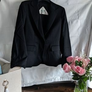 Austin Reed Size 8 black one button jacket